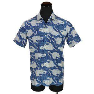 Kardo Short Sleeve Button Down Shirt  Handmade